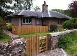 Gate Lodge self-catering cottage, Bamff