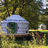 Glamping and sel catering accommodation on Bamff Estate, near Alyth
